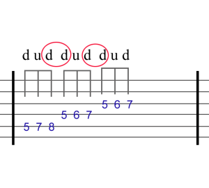 adjusted pentatonic