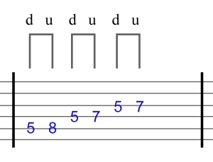 normal pentatonic