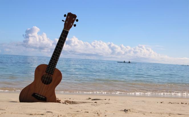 Ukulele beach